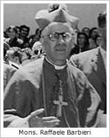 Mons. Raffaele Barbieri 1898-1968